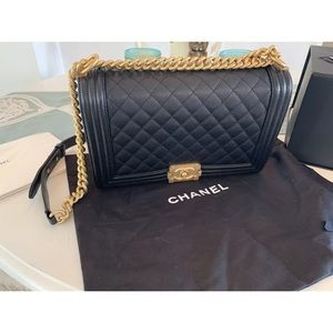 Chanel Boy Bag Large